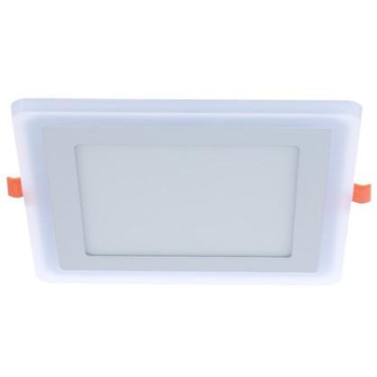 Встраиваемый светильник светодиодный Gauss Backlight BL125 квадратный 12/4 Вт 4000 K алюминий/акрил цвет белый