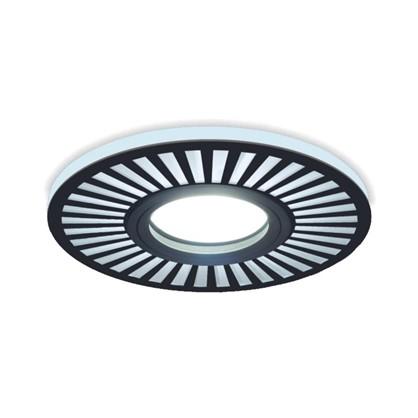 Встраиваемый светильник светодиодный Gauss Backlight BL135 круглый GU 5.3 3 Вт 4000 K алюминий/акрил цвет черный