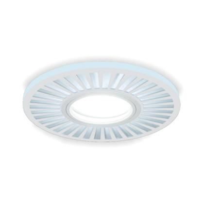 Купить Встраиваемый светильник светодиодный Gauss Backlight BL136 круглый GU 5.3 3 Вт 4000 K алюминий/акрил цвет белый дешевле