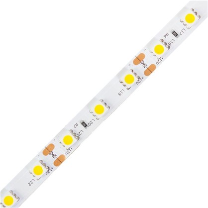 Светодиодная лента 14.4Вт/60LED/м свет теплый белый IP23
