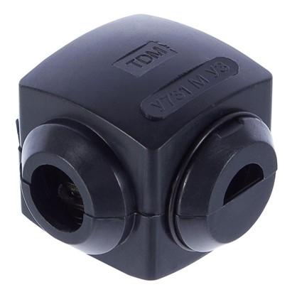 Купить Сжим ответвительный У-731 10/10 кв.мм поликарбонат цвет чёрный IP20 дешевле