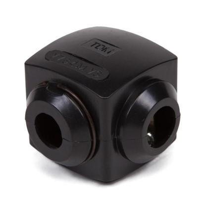 Сжим ответвительный У-734 35/25 кв.мм поликарбонат цвет чёрный IP20