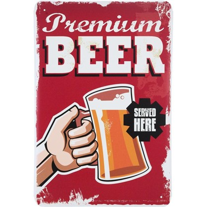 Табличка Premium Beer 20х30 см