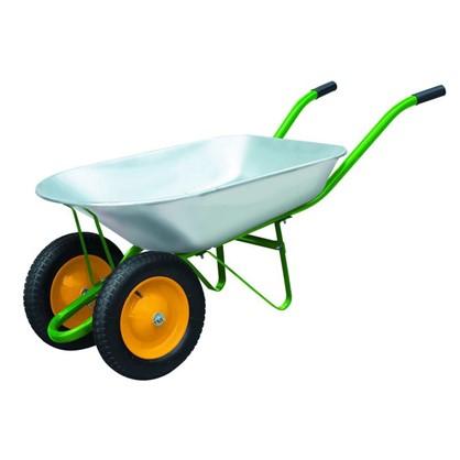 Купить Тачка садовая на двух колёсах 170 кг/78 л дешевле