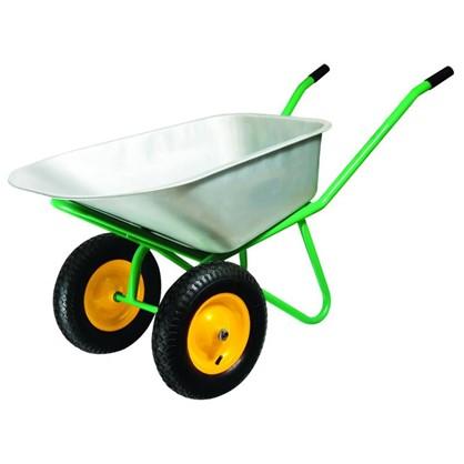 Купить Тачка садовая на двух колёсах усиленная 320 кг/100 л дешевле