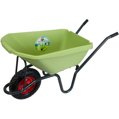 Купить Тачка садовая с большим кузовом 175 кг/100 л дешевле