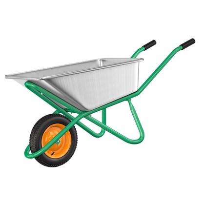 Купить Тачка садовая усиленная 200 кг/90 л дешевле