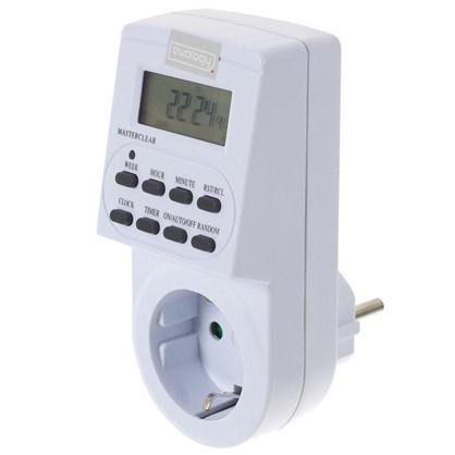 Таймер электронный TGE-2 LCD дисплей цвет белый