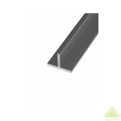 Тавр алюминиевый 15х15х2 см 2 м цвет серебро