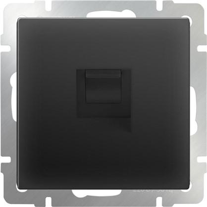 Купить Телефонная розетка Werkel RJ-11 цвет черный дешевле