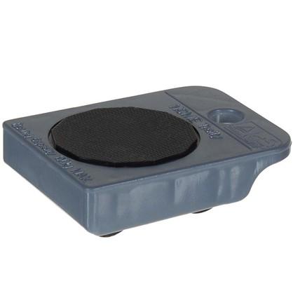 Тележка ABS-пластик цвет серый металлик до 150 кг