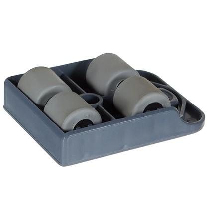 Купить Тележка TPR-пластик цвет серый металлик до 150 кг дешевле