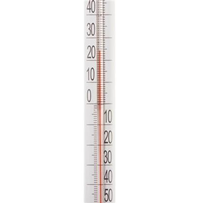 Термометр оконный стеклянный Липучка