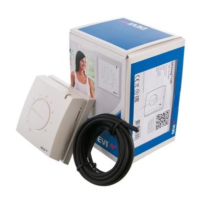 Купить Терморегулятор Devireg 130 с датчиком пола цвет белый дешевле