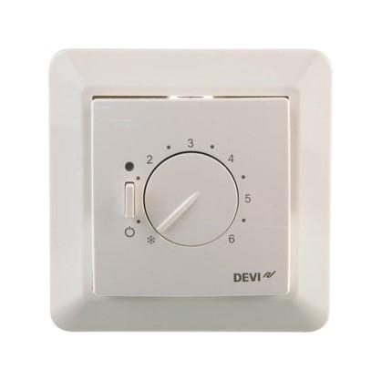Терморегулятор Devireg 530 с датчиком пола цвет белый