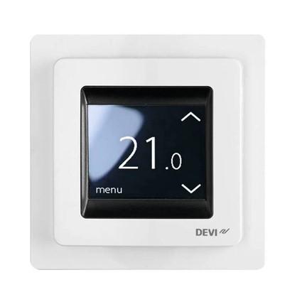 Купить Терморегулятор Devireg Touch цвет белый дешевле
