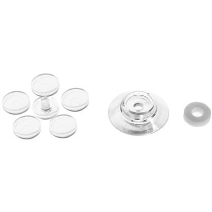 Термошайба для поликарбоната 30 мм пластик цвет прозрачный 25 шт.