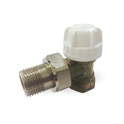 Термостатический комплект для радиатора угловой 1/2 дюйма