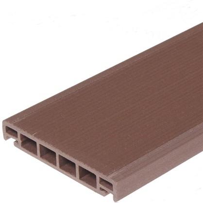 Террасная доска 3000x162х26 мм 0.486 м² цвет вишня