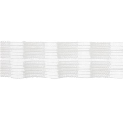 Тесьма шторная прозрачная 4 см