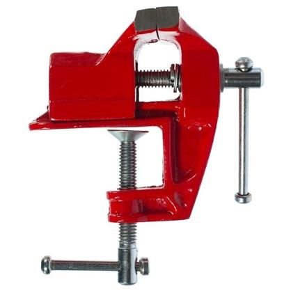 Купить Тиски слесарные с креплением для стола  Sparta 40 мм дешевле