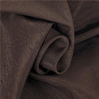 Ткань 280 см габардин однотон цвет коричневый