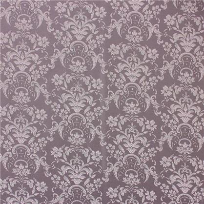 Ткань Цветы жаккард 285 см цвет бежевый серый