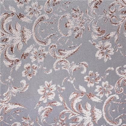 Ткань Цветы жаккард 285 см цвет голубой