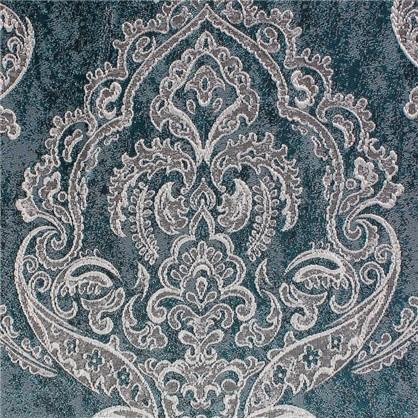 Ткань Дамаск жаккард 280 см цвет бирюзовый