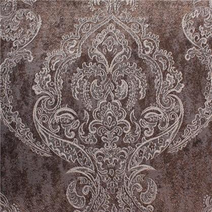 Ткань Дамаск жаккард 280 см цвет коричневый