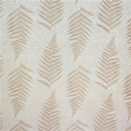 Купить Ткань Папоротник жаккард 300 см цвет натуральный дешевле