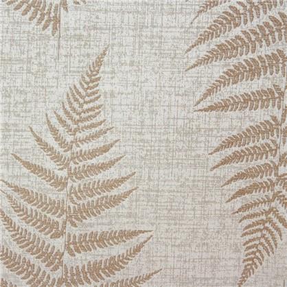 Ткань Папоротник жаккард 300 см цвет натуральный