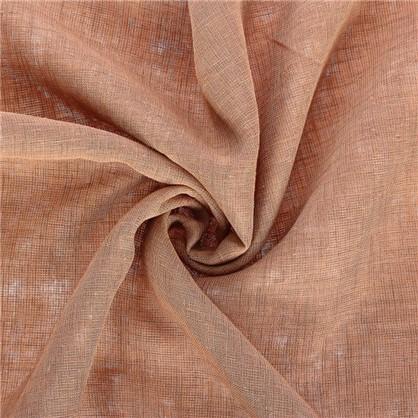 Купить Ткань под лен 285 см цвет светло-коричневый дешевле