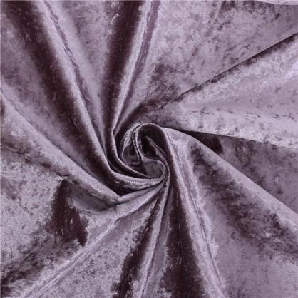 Ткань Тюдор велюр 280 см цвет сиреневый