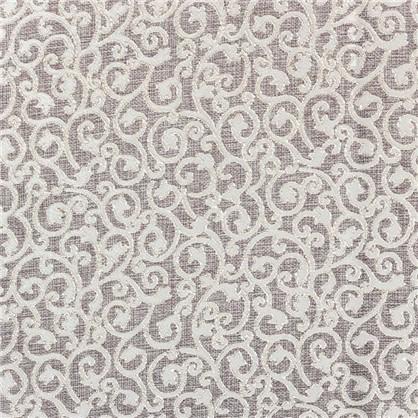 Купить Ткань Жозефина жаккард 280 см цвет бежевый дешевле