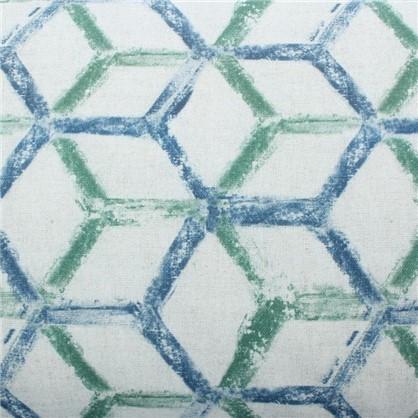 Ткань Амазонико Геометрия 280 см абстракция цвет зеленый