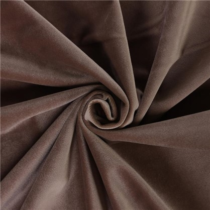 Купить Ткань бархат 150 см цвет коричневый дешевле