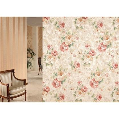 Ткань Цветы интерио 150 см цвет красный