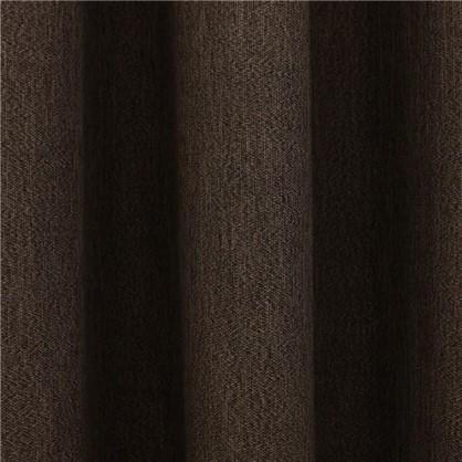 Ткань Рогожка 280 см цвет коричневый