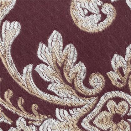 Ткань Шато монограм руби 290 см