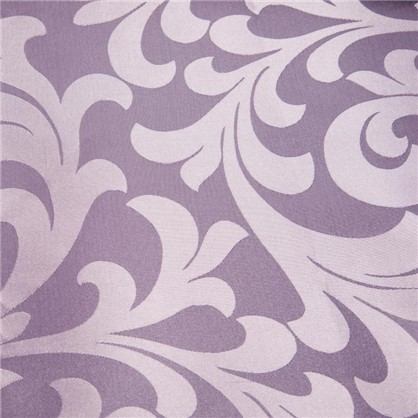 Ткань Вензель 145 см жаккард цвет сиреневый
