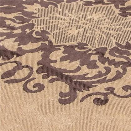 Купить Ткань Вензель 280 см блэкаут цвет коричневый дешевле