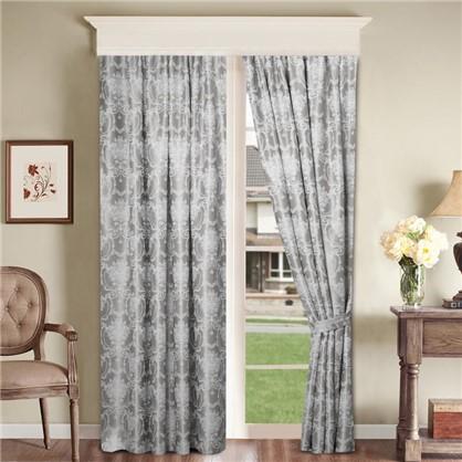 Ткань Вензель 280 см блэкаут цвет серый