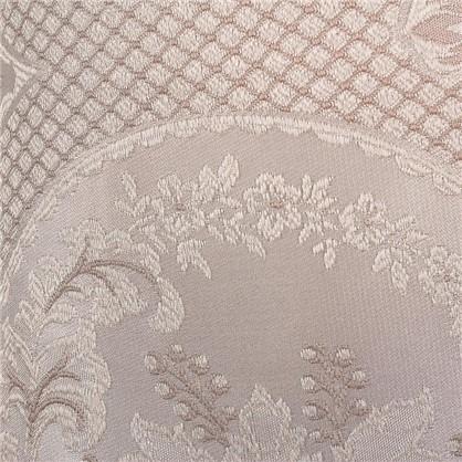 Ткань жаккард Луиза 280 см цвет бежевый