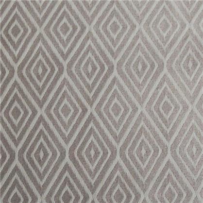 Ткань жаккард Ромбы 300 см цвет серый