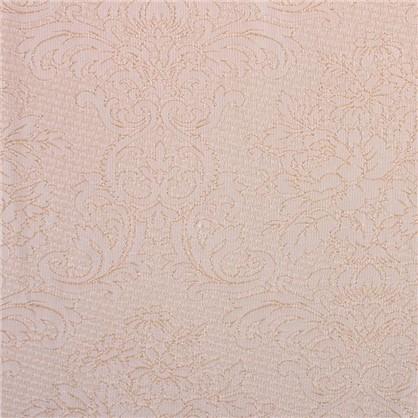 Ткань жаккард Венера 280 см цвет молочный