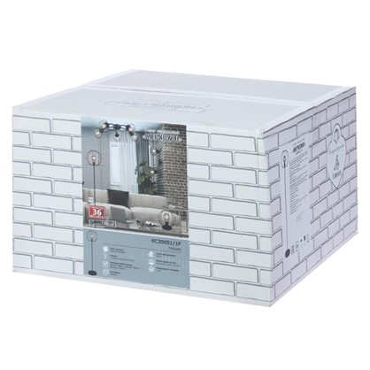 Купить Торшер КС30051/1F 1хЕ27х60 Вт цвет черный дешевле
