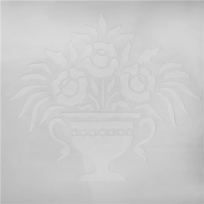 Трафарет декоративный Ваза 20х29.5 см