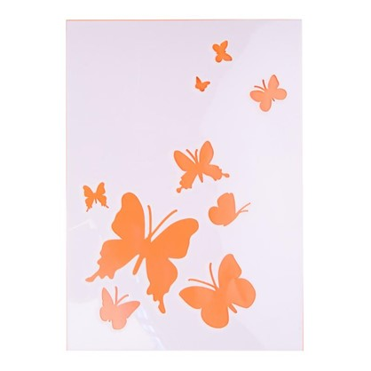 Трафарет самоклеящийся Бабочки 25х35 см