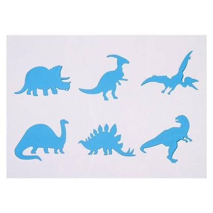 Купить Трафарет самоклеящийся Динозавры 25х35 см дешевле